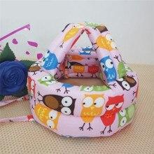 Baby Girl Boy Hat Cotton Safety Helmet Adjustable Baby Protective Cap Toddler Walk Head Security&Protection Newborn Caps