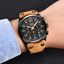 LIGE Mens Watches Top Brand Luxury Men Military Sports Watch Mens Chronograph Waterproof Quartz Watch Clock Relogio Masculino 2018 lige mens watches business top luxury brand quartz watch men leather dress waterproof sports chronograph relogio masculino