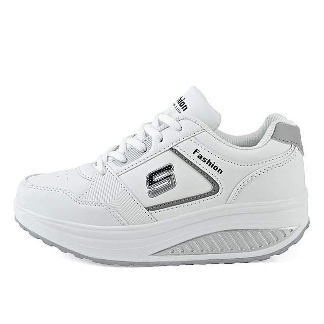 a0143af2db placeholder Mulheres Correndo Calçados Femininos Calçados Esportivos  Amortecimento Antiderrapante Ao Ar Livre Tênis De Couro Pu