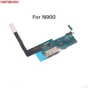 Image 1 - 5 قطعة لسامسونج غالاكسي NOTE3 ملاحظة 3 N900 N9008V N9008S SM N900 USB تهمة موصل هيكلي ميناء الشحن مقبس متفرع فليكس كابل