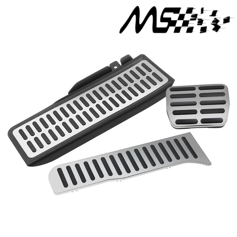 Automatic car Stainless Car Pedal For Volkswagen VW Golf 5 6 Footrest Pedals Cover kits
