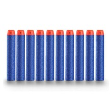 200PCS For Nerf Gun Bullets Hollow Hole Head 7.2cm Refill Darts