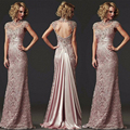 Vestido De Festa Longo Vestido de Noite para A Mãe de Renda Formal vestidos Mãe da Noiva Vestidos De Robe De Soirée Abendkleider 2016