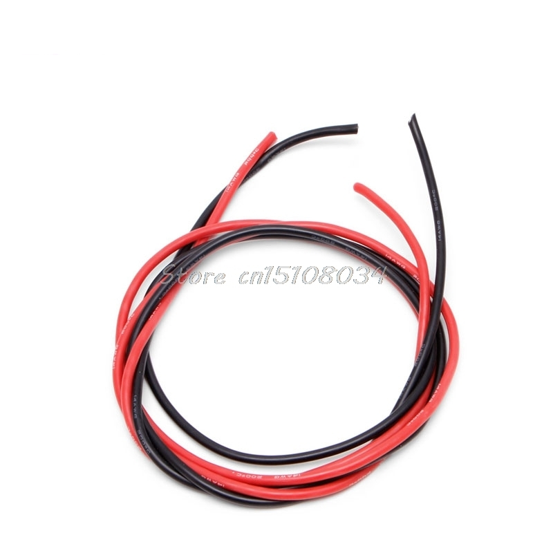 New 14 AWG Silicone Gauge Wire Flexible Copper Stranded Cables For ...