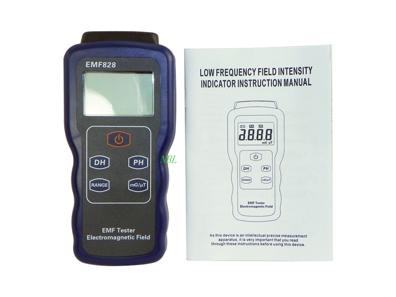 Brand Low Frequency Filed Intensity Meter EMF828 For Particular Objects Or Devices Radiate Electromagnetic Waves High Quality!!!