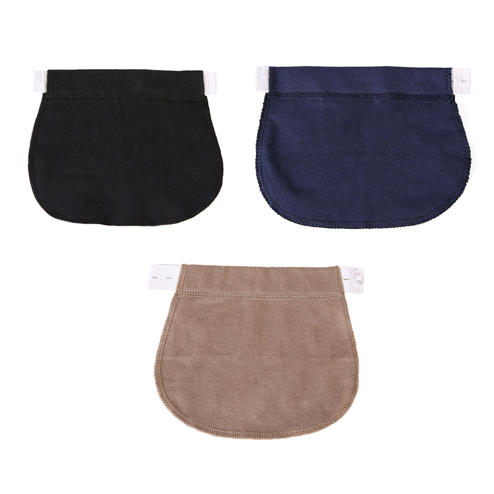 1 Pc Adjustable Maternity Pregnancy Waistband Belt Elastic Waist Extender Clothing Pants For Pregnant Sewing Accessories
