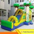 Tamanho adequado Portátil Inflável Castelo inflável Com Escorregador Para Venda Do Partido Dos Miúdos