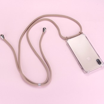 Strap Cord Chain Phone Tape Necklace Lanyard Mobile Phone Case for Carry Cover Case Hang iPhone 12 1