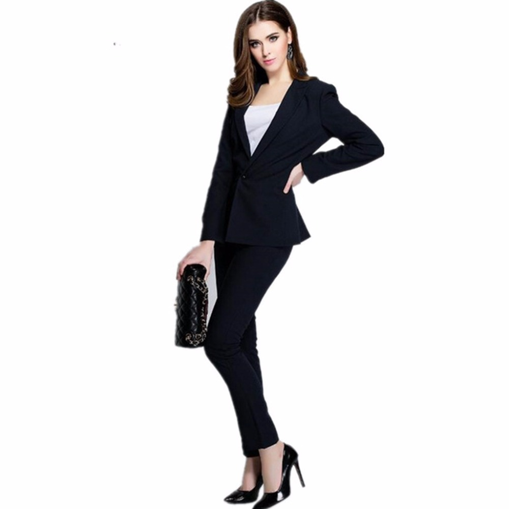 Slim Costumes Formel light Charcoal grey Mode Ol navy W105 Nouveau Ensemble Pantalon khaki Veste Blazer Femmes burgundy Blue Grey D'affaires Costume Dames Bureau Pantalons w5UxIq7