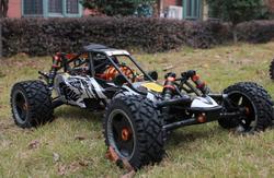 30.5 CC 2 speed baja + nice CNC air fiter + CNC oil cover + CNC rear bumper + GT3B radio set