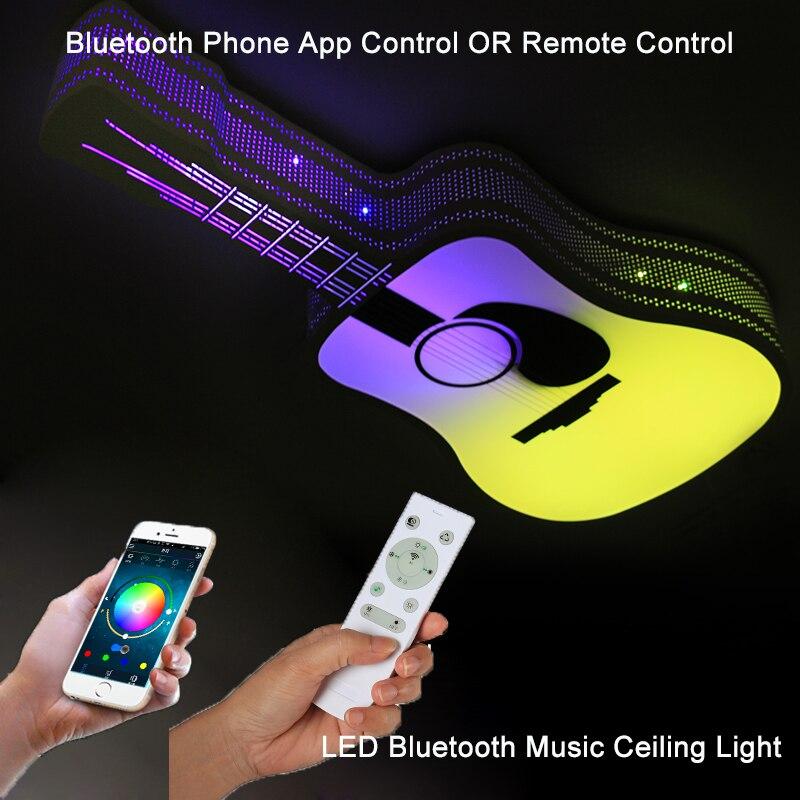 Plafond moderne à LEDs lumières rvb Dimmable APP télécommande