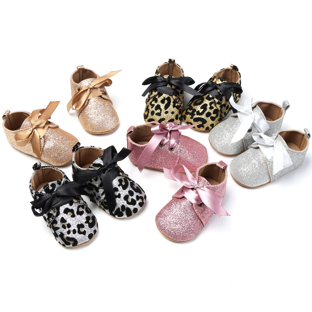 2017-New-Infant-Baby-Boy-Girl-Glitter-Trainers-Soft-Sole-Pram-Shoes-Leopard-Bow-Baby-First-Walkers-Shoes-0-18M-2