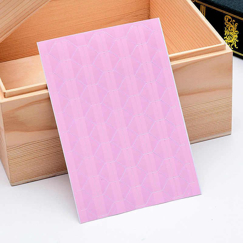 אופנה 102 יח'\חבילה DIY Scrapbook אלבומים תמונות נייר פינת תמונה צבעונית מסגרת תמונה מדבקות PVC קישוט