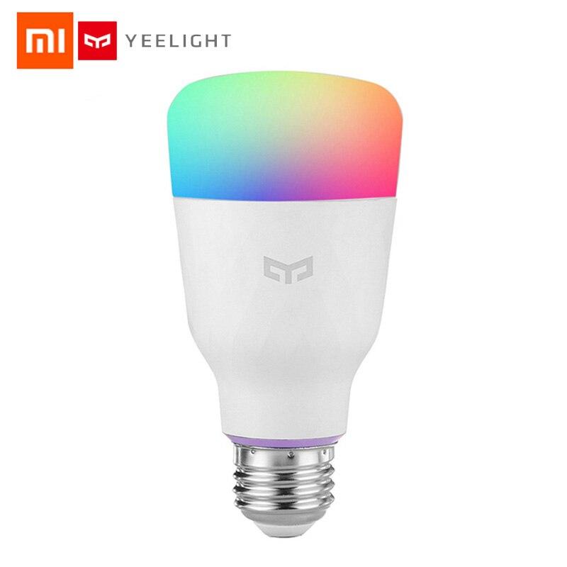 Xiaomi Yeelight Smart LED Bulb Colorful 800 Lumens 10W E27 Lemon Smart Lamp For Mi Home App White/RGB Option