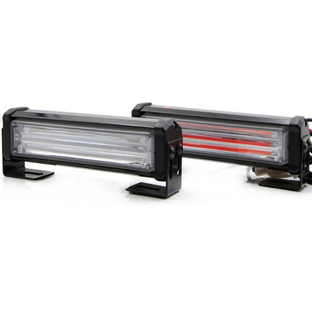 40 W COB LED stroboscope Flash avertissement voiture lumière télécommande 8 Modes style pompier Police trafic d'urgence antibrouillard