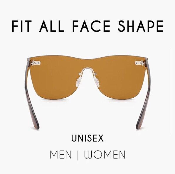 Infinity fashion colored sunglasses 2