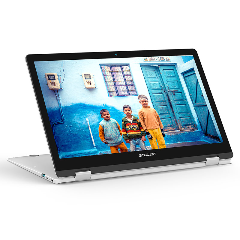 Teclast F6 Pro 8GB RAM 128GB SSD Laptop 13.3 inch 1920x1080 16:9 Intel Core m3-7Y30 2xUSB3.0 Type-C Bluetooth 4.0 Silver Laptop