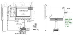 Image 4 - 12864B 128*64 Dots Matrix Grafisch Lcd Module Scherm Backlight Voor ESR T3 T4 Esr Meter Crystal Tester