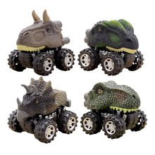 Pull Back Car Toys Inosaur Model Jurassic World Vehicle Car Kids Toys For Children Mini Vehicle Animal Diecasts & Toy Vehicles(China)