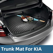All Weather Cargo Trunk Liner Floor Mat Rear Tray Waterproof Protector For KIA Cerato 2018-2019
