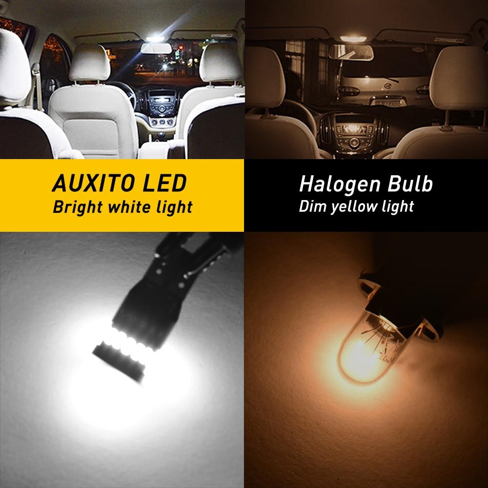 2x T10 LED W5W Canbus 194 168 Felfri LED-avstånd Parkeringsljus för - Bilbelysning - Foto 2