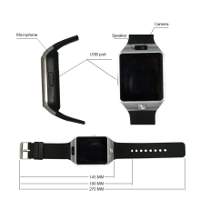 DZ09 Smart Watch With Camera  Bluetooth Pedometer For Android