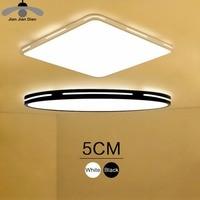 JJD Modern LED Ceiling Light Simple Decoration Fixtures For Study Dining Room Bedroom Living Room Balcony