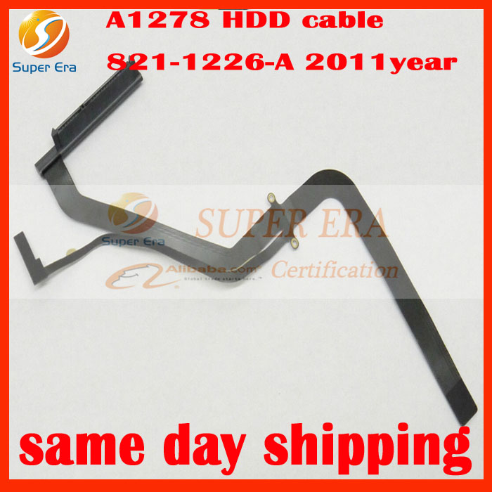 perfect New HDD Hard Drive Flex Cable 821-1226-A for Apple Macbook Pro Unibody A1278 13 2011 10pcs lot new a1278 hdd hard drive flex cable 821 0814 a 922 9062 for apple macbook pro 13 a1278 mid 2009 mid 2010 year