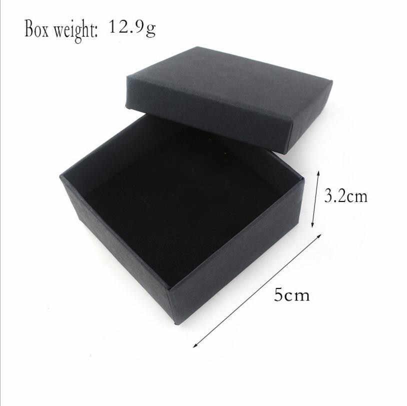 Caixa de embalagem de jóias saco preto rongji Keyring Acessórios de Jóias caixa de presente do dia Dos Namorados