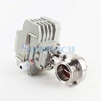 3/4 2 SUS304 из нержавеющей стали санитарный тройной зажим Электрический Дроссельный клапан для Homebrew