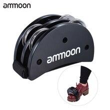 Cajon-Box Drum Companion-Accessory Ammoon Percussion-Instruments Foot-Jingle-Tambourine