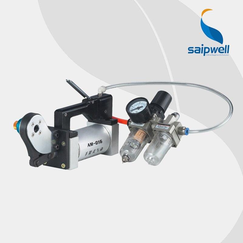 Saipwell AM 016 pneumatische Schwere Steckverbinder crimpmaschine ...