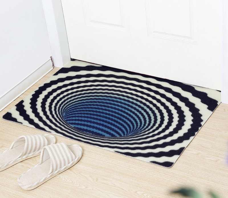 2019 New Entrance Strawberry Doormat Fashion Trap Printed Rugs And Carpets For Living Room Floor Mat Kitchen Karpe Free Ship