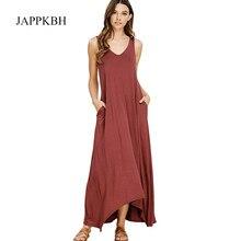54622319e5de JAPPKBH Longo Outono Vestido de Festa de Verão Mulheres Casual Soltas  Sólidos Das Senhoras Vestidos Sexy