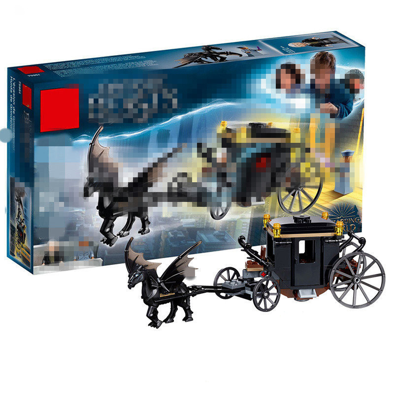 2018 Compatible Series Grindelwald's Escape Model Building Block Toy For Children Gift