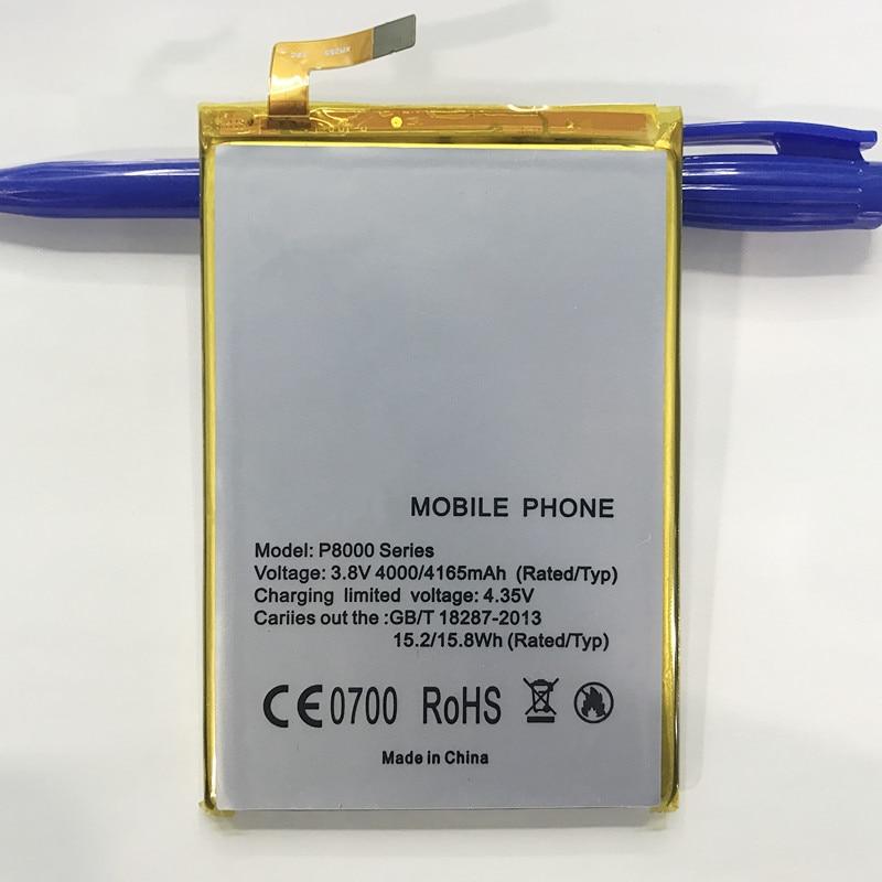 Для <font><b>Elephone</b></font> <font><b>P8000</b></font> Батарея 4165 мАч для <font><b>Elephone</b></font> <font><b>P8000</b></font> серии <font><b>Batterie</b></font> Bateria Batterij Аккумулятор Акку