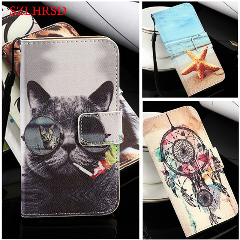 SZLHRSD 21 colors Hot Sale! for Oppo A83 5.7inch Case New Arrival Fashion Flip PU Leather Protective Cover Case