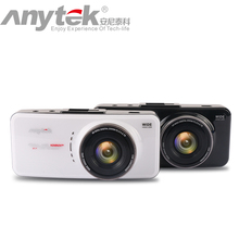 Caliente Original Anytek AT66A Cámara Del Coche DVR Grabador full HD Novatek 96650 Cuadro Negro de 170 Grados 6G Lente Súper Visión Nocturna Dash Cam