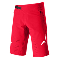 Delicate Fox Motorsports Downhill Bike Riding Men's Moto Red Summer Shorts