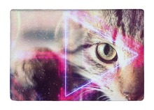 Floor Mat Space Future Science Fiction Fantasy Cat Print Non slip Rugs Carpets alfombra For font