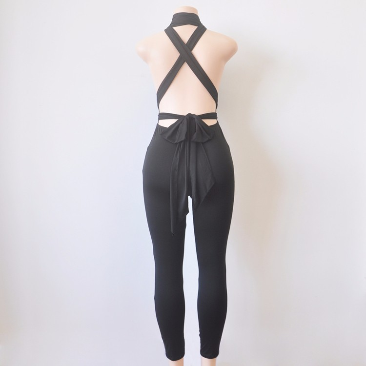 black elegant jumpsuit