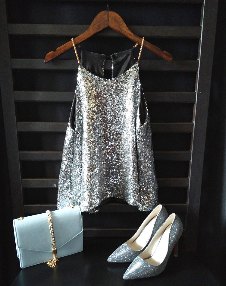 b7925f45e6 Women Camis Tank tops Shiny Sequin Vest Bling Chain Spaghatti Party ...