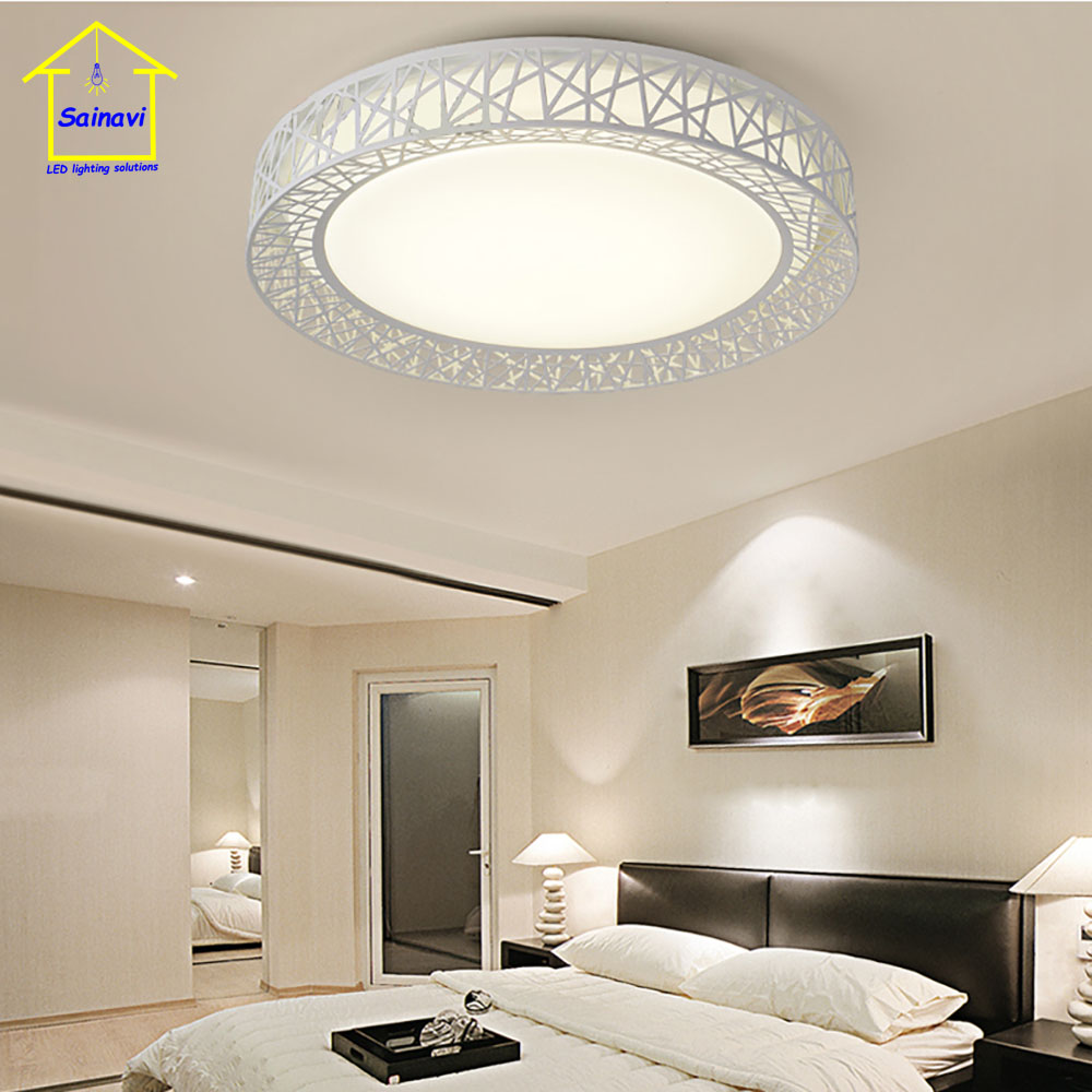 LED Ceiling Lamp Hot Sales Modeling Of China National Stadium Bedroom Living Room Lights Cold