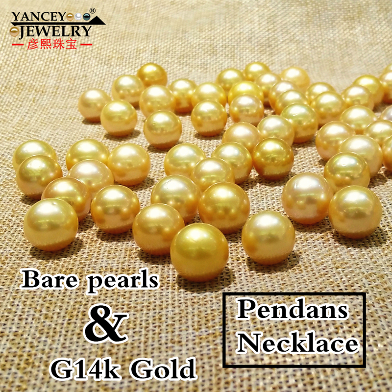 2019 New Natural Pearl Pendants Necklace Fina Jewelry 11-12mm Big Golden South Sea Pearl Pendants, With 18 G18k gold necklace2019 New Natural Pearl Pendants Necklace Fina Jewelry 11-12mm Big Golden South Sea Pearl Pendants, With 18 G18k gold necklace