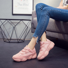 2019 new fashion womens shoes ins super fire casual platform sports