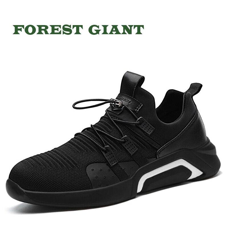 Bosque gigante hombres Zapatos ocasionales respirables Sneakers moda Tenis Masculino Zapatos Hombre Sapatos Zapatos al aire libre de los hombres