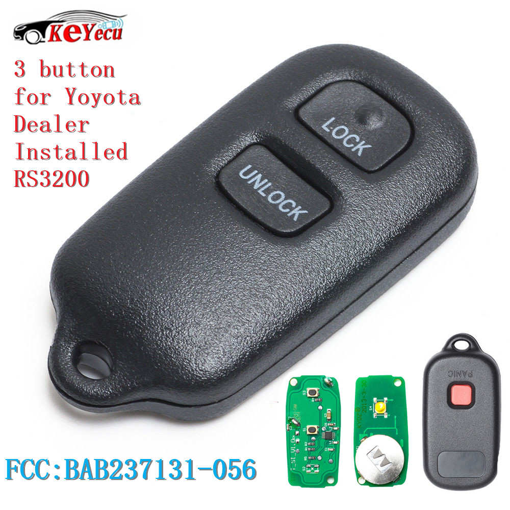 Discount Keyless Replacement Key Fob Car Remote Compatible with BAB237131-056
