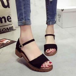 Милая обувь на плоской подошве; удобные женские сандалии; летние женские сандалии; пляжные вьетнамки для студенток; повседневные туфли с