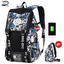 Fengdong USB Водонепроницаемый рюкзак женщины мужчины 15.6 дюймов для ноутбуков Рюкзаки подросток школьные сумки для мальчиков 2 Back Pack Mochila bagback