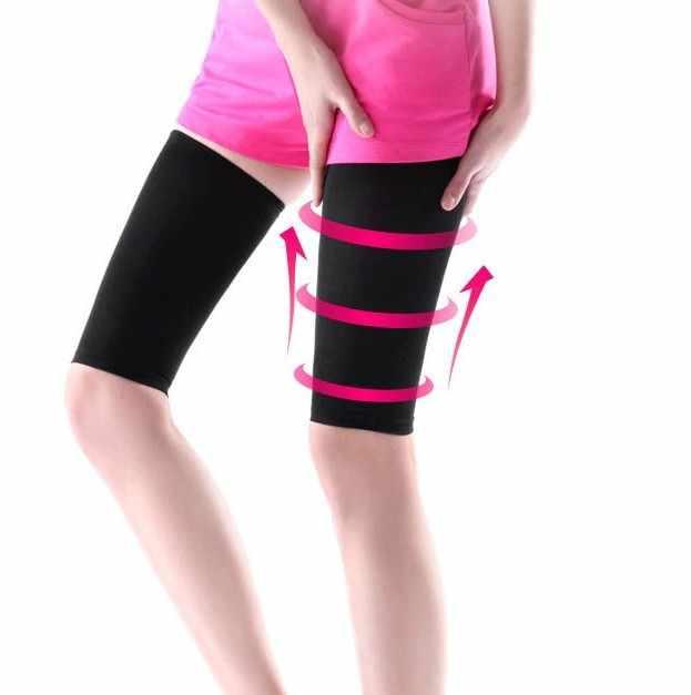 8d0890d3a1 ... PRAYGER 3pcs Women Slimming Body Massage Arm Shapers Thigh Belt Shaping  Legs Girdle Varicose Veins Calf ...